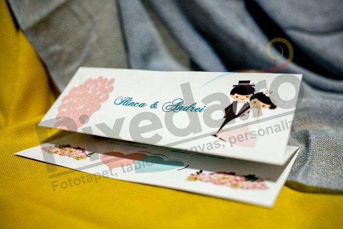 Imagine Invitatii nunta 228 tineri însurăței