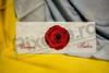Imagine Invitatii nunta 233 trandafir roșu