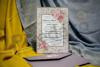 Imagine Invitatii nunta 973 ramă flori