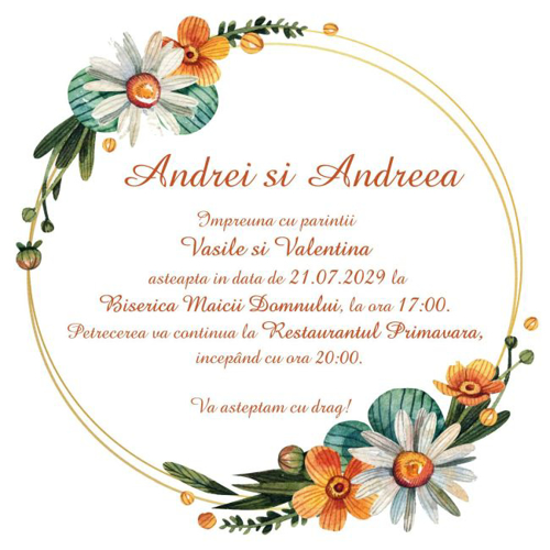 Imagine pentru categorie Invitații nuntă