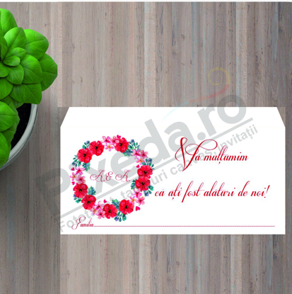 Imagine Plic / Mape de bani nunta PX 11021