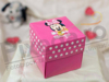 Imagine Invitatii de botez 3621B cutiuță Minnie Mouse