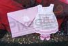 Imagine Invitatii de botez N35 rochiță fetiță