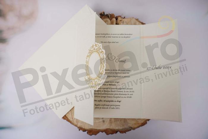 Imagine Invitatii nunta 1137 model de lux
