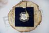 Imagine Invitatii nunta 1144 catifea albastru imperial