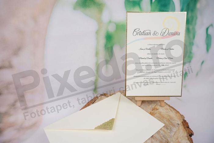 Imagine Invitatii nunta 1146 design de  lux