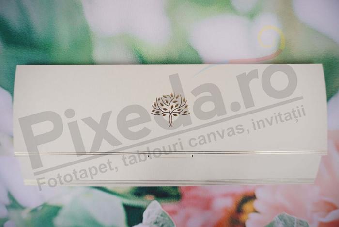 Imagine Invitatii nunta 1156 copac auriu
