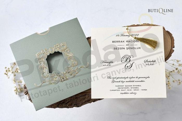 Imagine Invitatii nunta 1182 verde