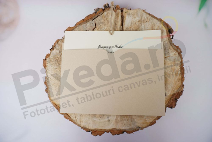 Imagine Invitatii nunta 1189 model elegant