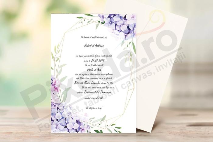 Imagine Invitatii nunta PX 10002
