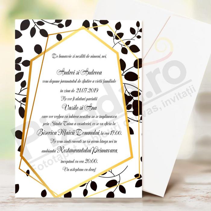Imagine Invitatii nunta PX 10004