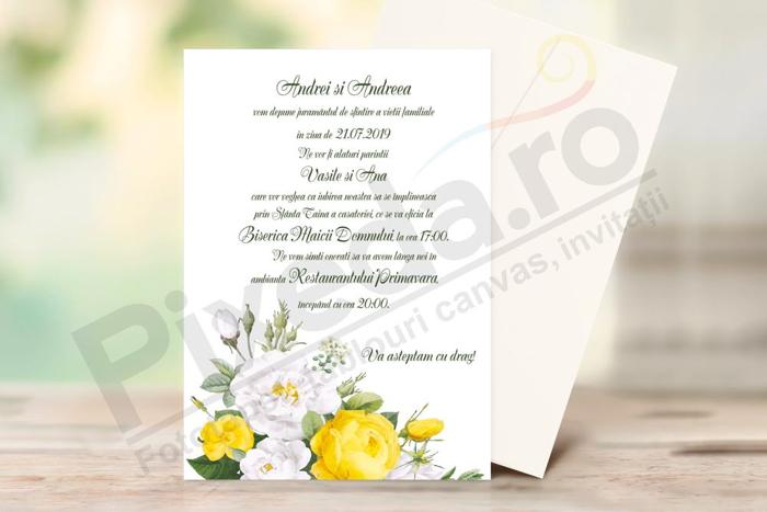 Imagine Invitație de nuntă PX 10010