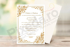 Imagine Invitatie de nunta PX 10016