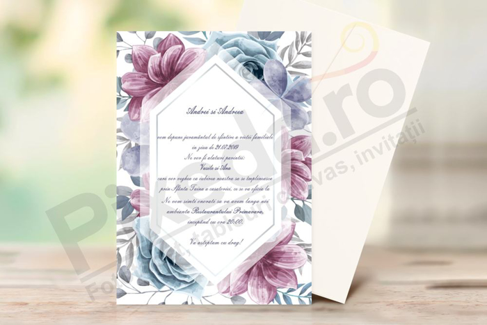 Imagine Invitatii de nunta PX 10033