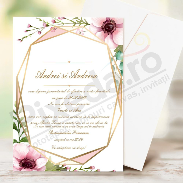 Imagine Invitatii de nunta PX 10034