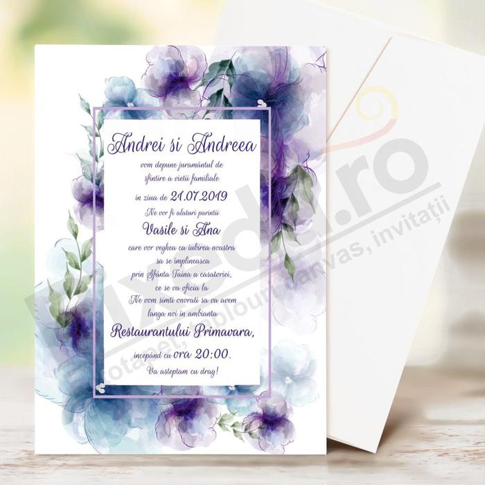 Imagine Invitatii de nunta PX 10039