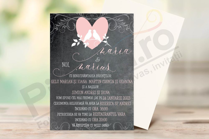 Imagine Invitatii nunta PX 10062