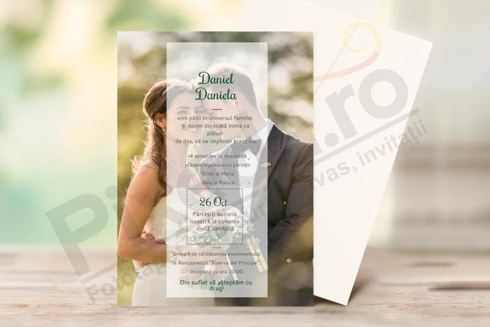Imagine Invitatii de nunta PX 10063