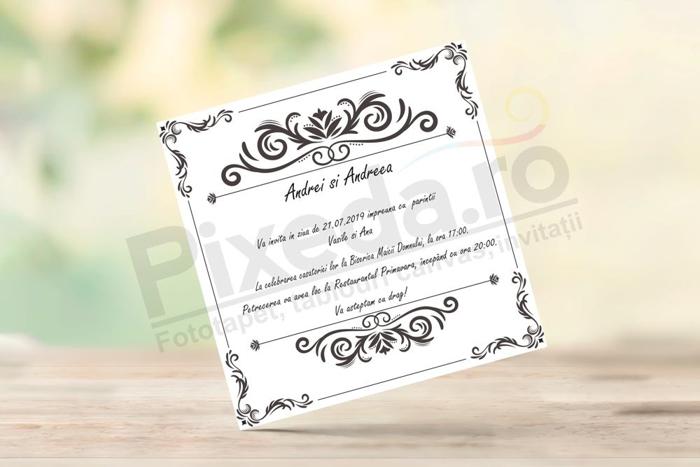 Imagine Invitatii nunta PX 10005
