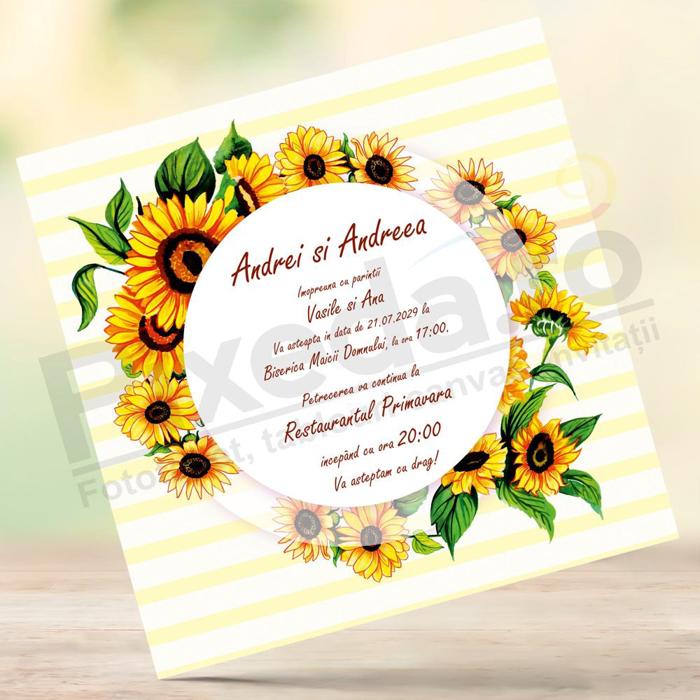 Imagine Invitație de nuntă PX 10017