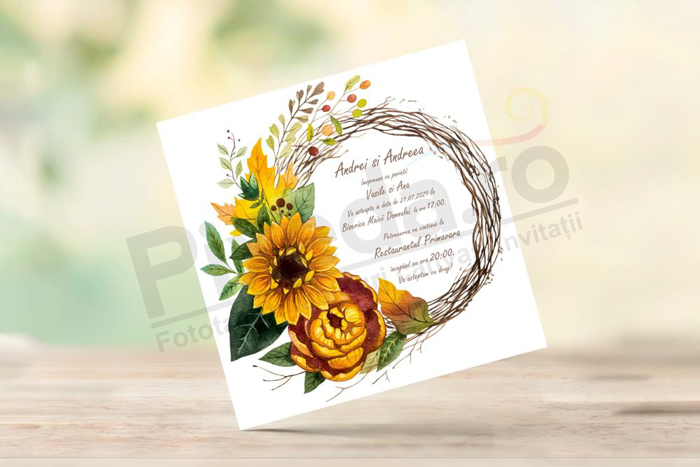 Imagine Invitatii nunta PX 10019