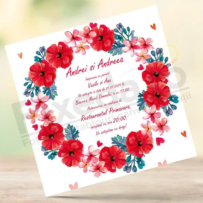 Imagine Invitatii nunta PX 10021