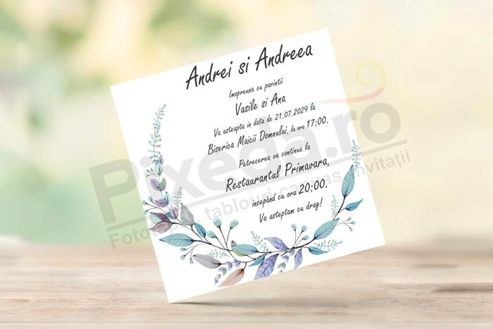 Imagine Invitatii nunta PX 10031