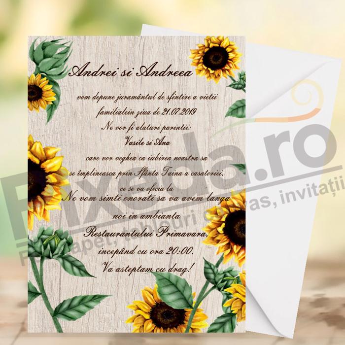 Imagine Invitatii de nunta PX 10035