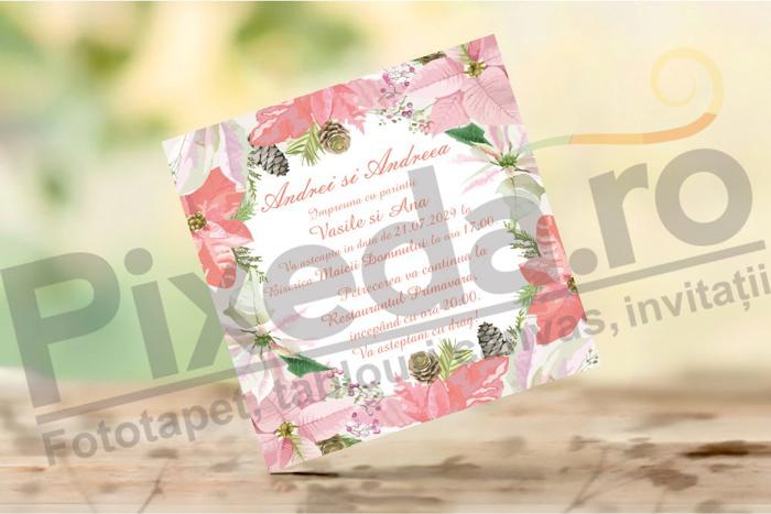 Imagine Invitatii de nunta PX 10037