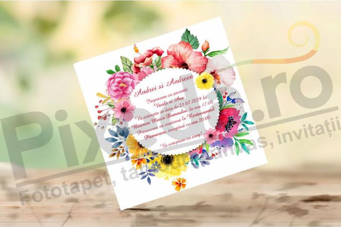 Imagine Invitatii de nunta PX 10045