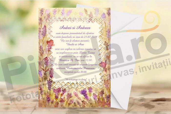 Imagine Invitatii de nunta PX 10070