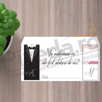 Imagine Plic / Mape de bani nunta PX 11066