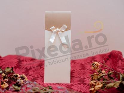 Imagine Invitatii nunta 1059 design elegant fundita