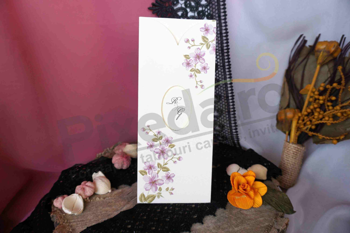 Imagine Invitatii nunta 15058 crengute inflorite
