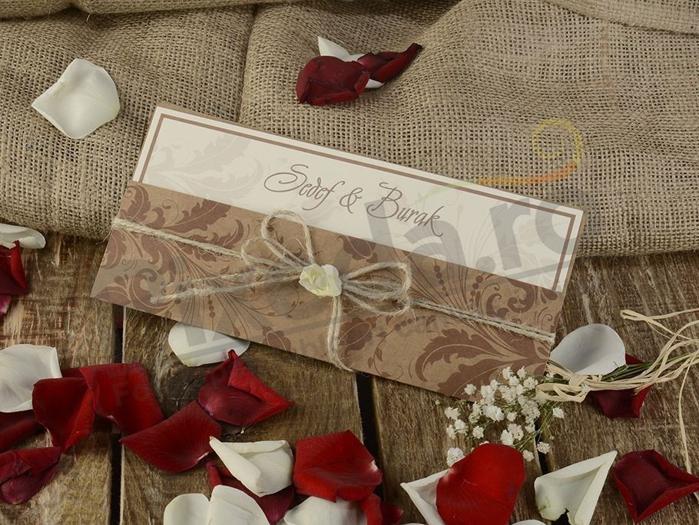 Imagine Invitatii nunta 16221 design frunze de toamna