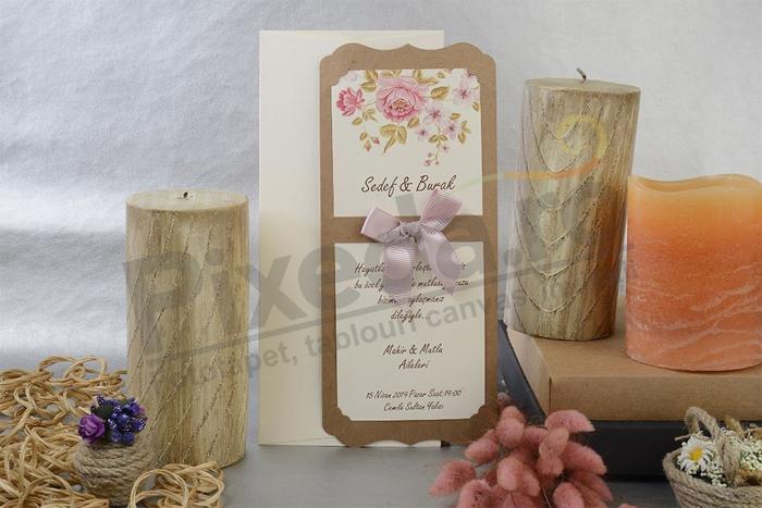 Imagine Invitatii nunta 17067 design floral