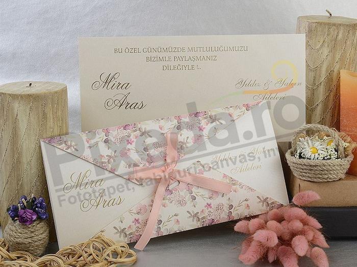 Imagine Invitatii nunta 17070 design floral