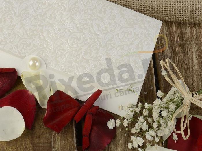 Imagine Invitatii nunta 20433 design elegant perla