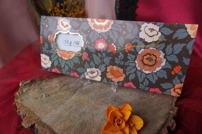 Imagine Invitatii nunta 70206 model floral