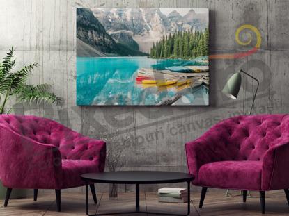 Imagine Tablou canvas peisaj PX 20037 padure si lac