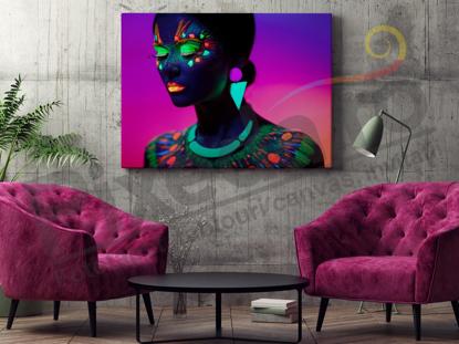 Imagine Tablou canvas abstract PX 20000 culori neon