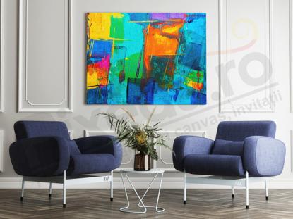 Imagine Tablou canvas abstract PX 20006 stil geometric