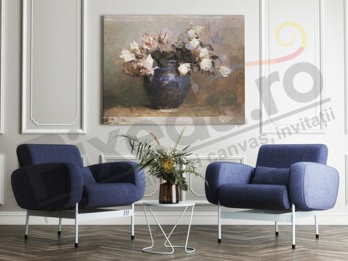 Imagine pentru categorie Tablouri canvas flori