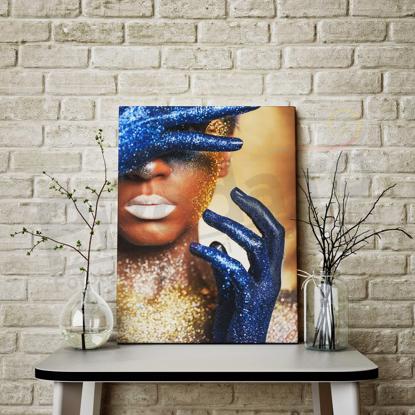 Imagine Tablou canvas abstract PX 21001 glitter aur