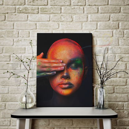 Imagine Tablou canvas abstract PX 21002 colorful face