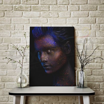 Imagine Tablou canvas abstract PX 21006 glitter man