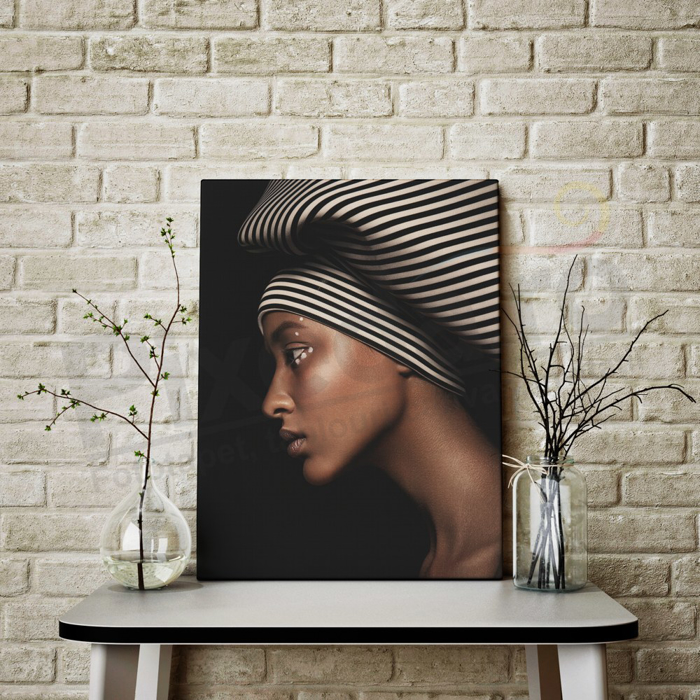 Imagine Tablou canvas abstract PX 21007 frumusete africana