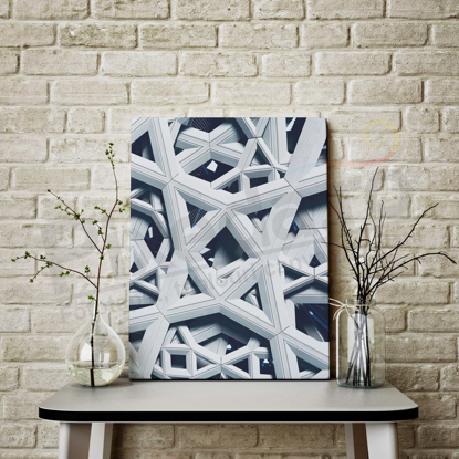 Imagine Tablou canvas abstract PX 21013 marble star