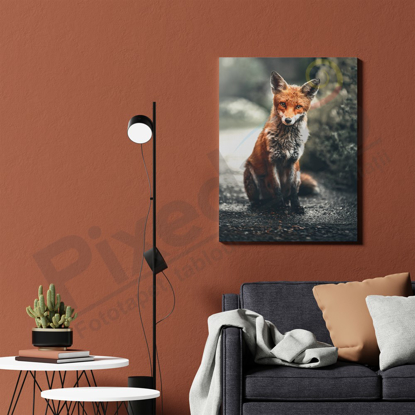 Imagine Tablou canvas animale PX 21018 vulpe uda