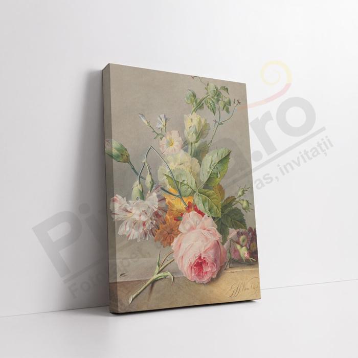 Imagine Tablou canvas flori PX 21032 buchet vintage